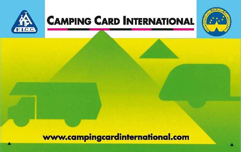camping card international