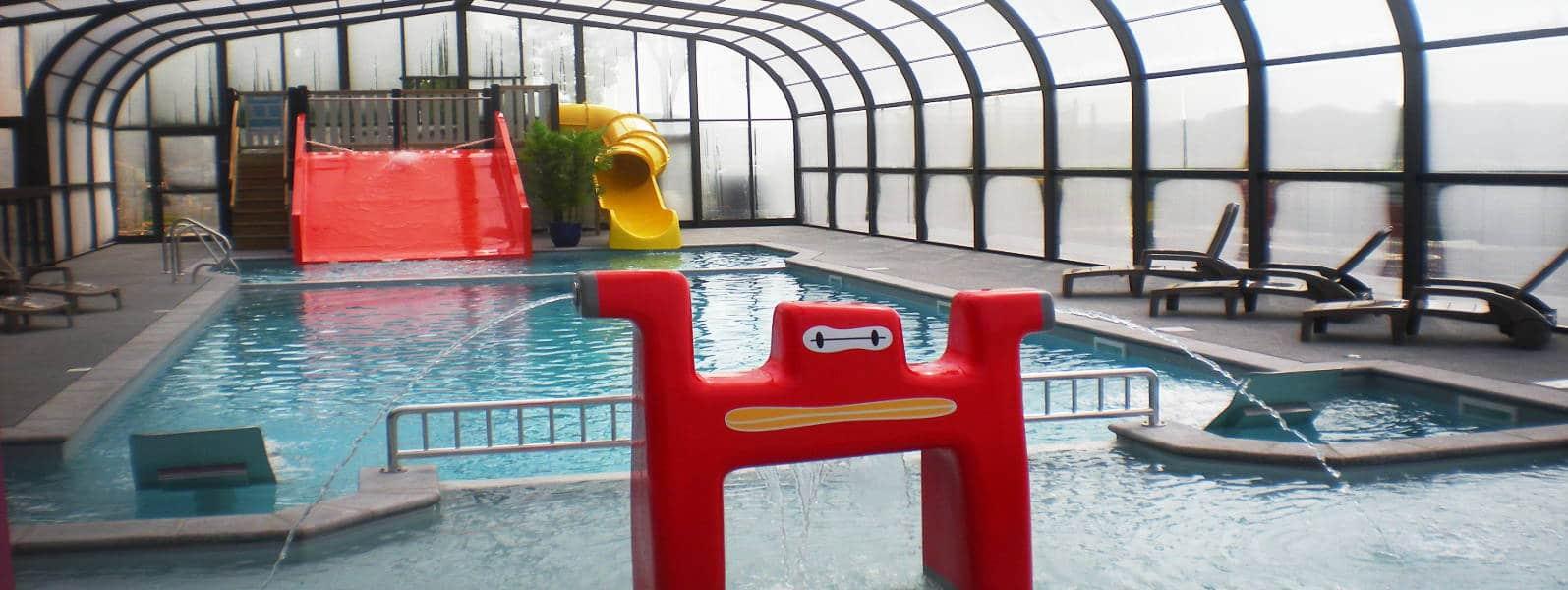 camping normandie piscine