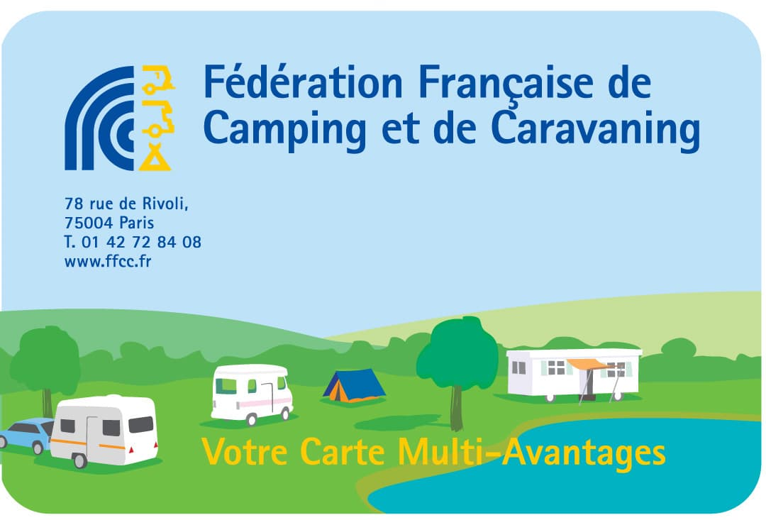 carte FFCC campings