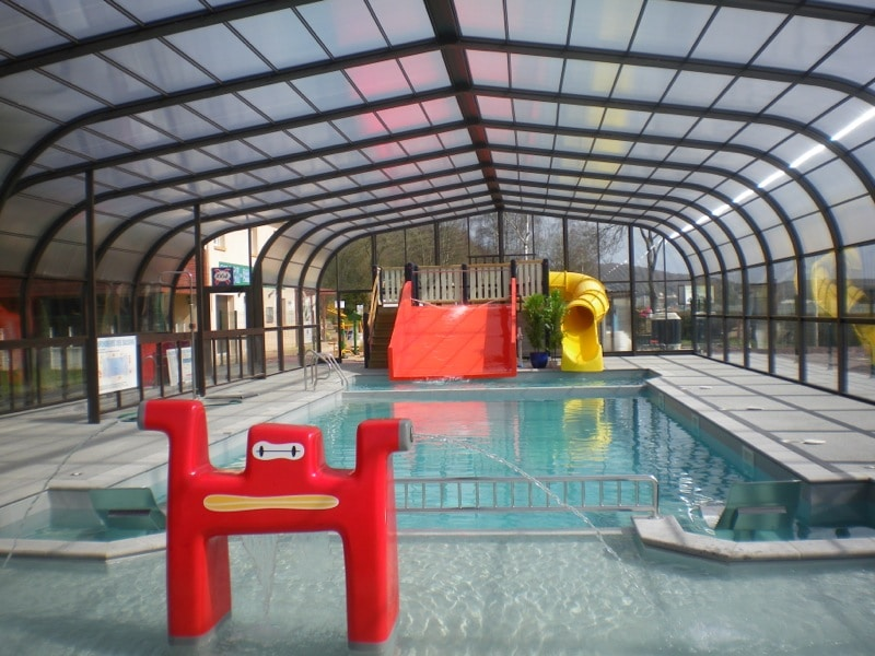 Piscine barreyva for Camping avec piscine normandie