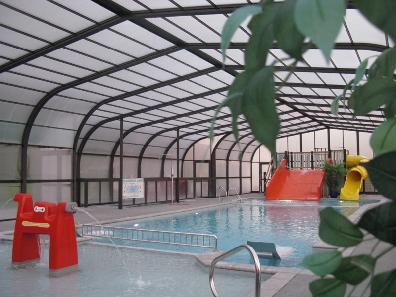 Piscine barreyva for Camping normandie avec piscine couverte