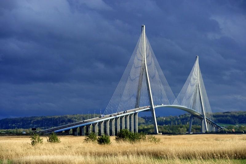 le Pont de Normandie - camping Barre y Va