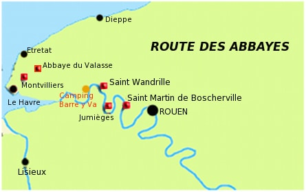 route des abbayes normandie