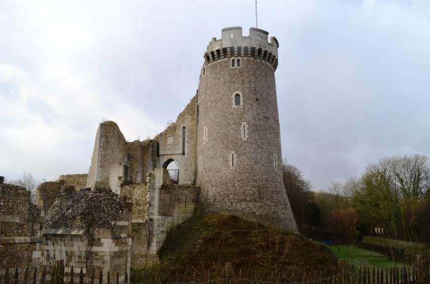 chateau de Robert le diable en haute Normandie