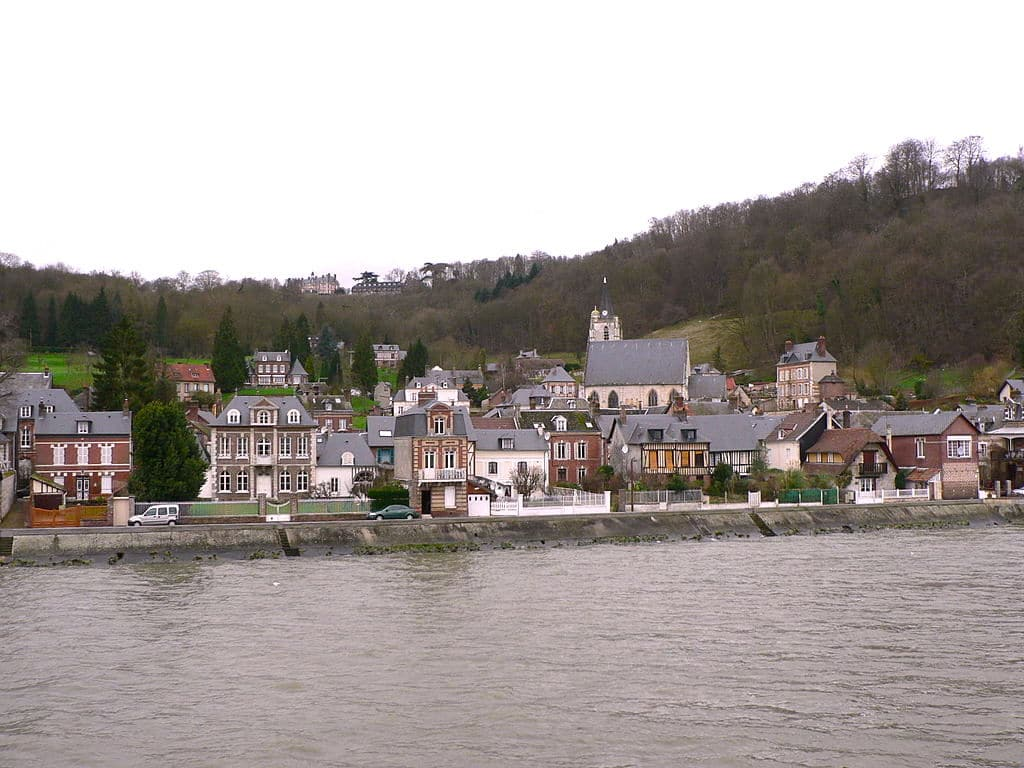 village sur la seine