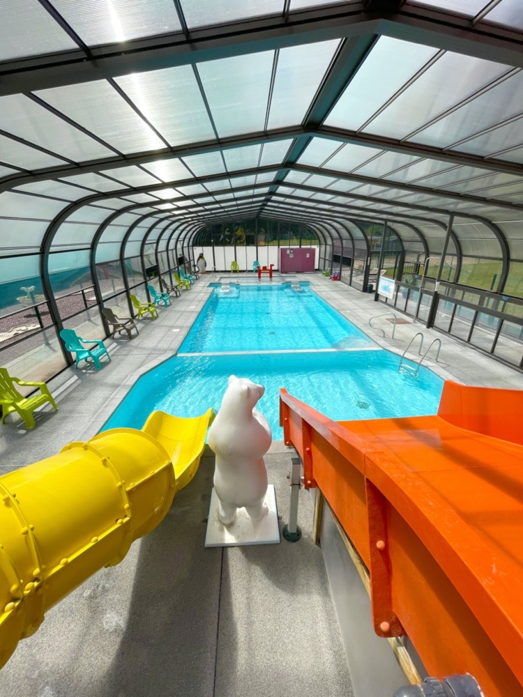 camping piscine couverte normandie